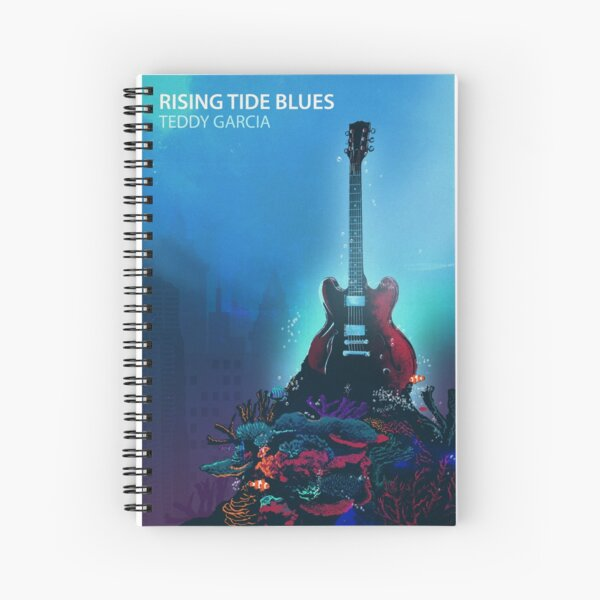 Rising Tide Blues - Gibson ES 330 Spiral Notebook
