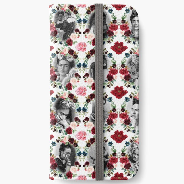 FRIDA KAHLO TRIBUTE - REAL FRIDA KAHLO iPhone Wallet