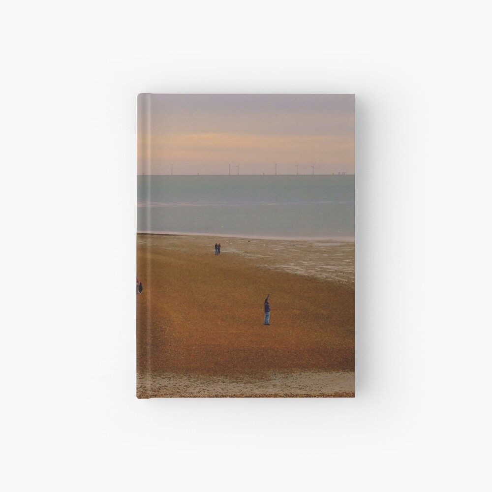 Low tide land Hardcover Journal