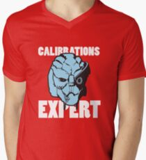 Calibrations Expert Men's V-Neck T-Shirt