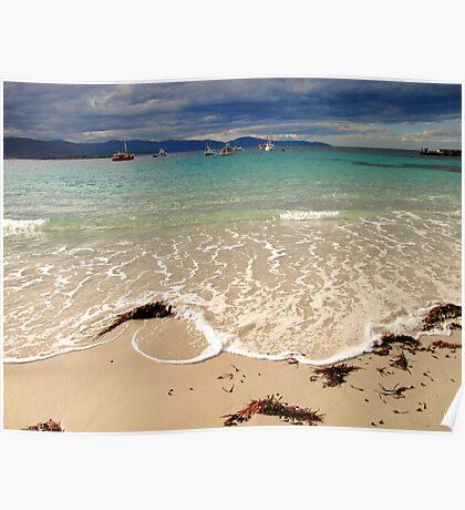 waubs bay, G12 style. eastcoast, tasmania Poster