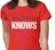 Discreetly Greek - Osceola Knows - Nike Parody Womens Fitted T-Shirt