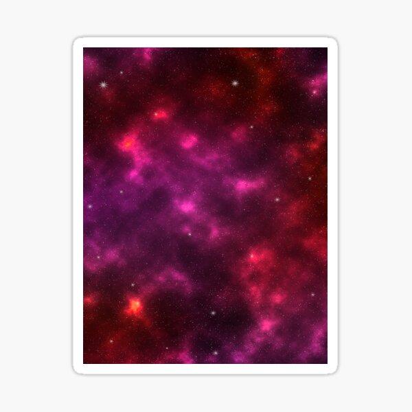 Sanguine Galaxy Sticker