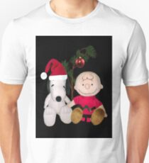 SNOOPY & CHARLIE BROWN FESTIVE CHRISTMAS-JOURNAL.. PICTURE AND OR CARD ECT T-Shirt