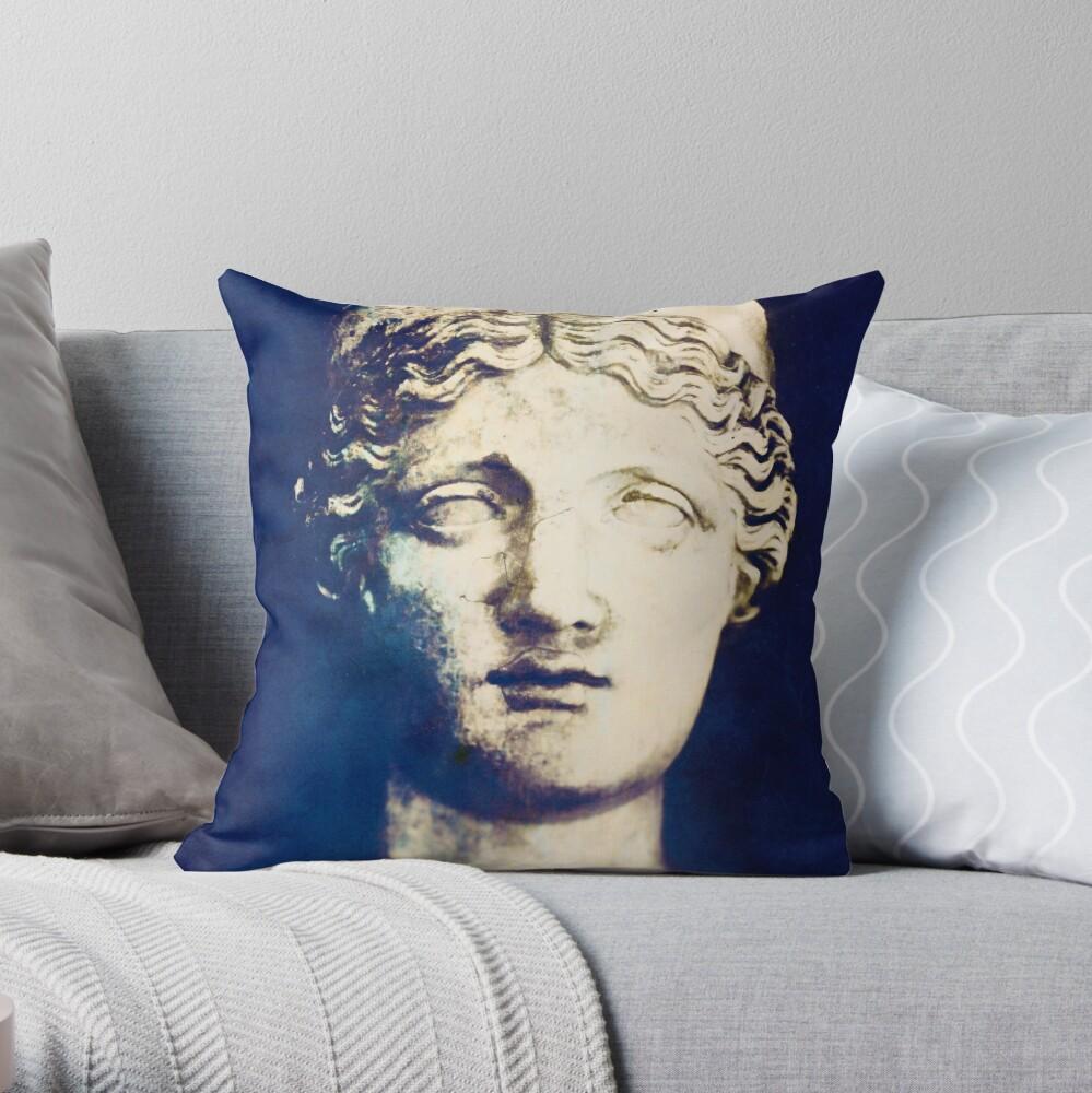 Goddess Hera Throw Pillow By Elenaray Redbubble