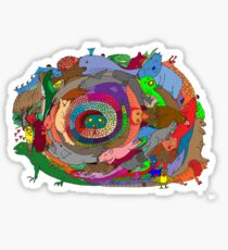 Rainbow Serpent Sticker