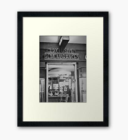 The Ambassador Hotel #1 - Los Angeles, CA Framed Print