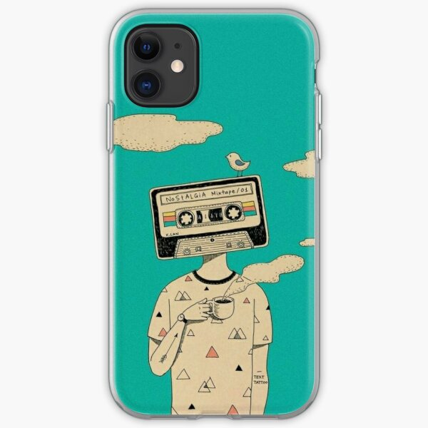 Cassette Man  iPhone Soft Case