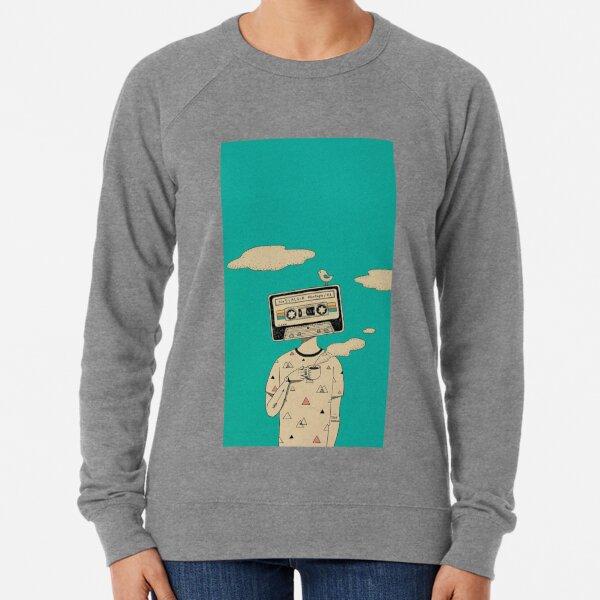Cassette Man  Lightweight Sweatshirt