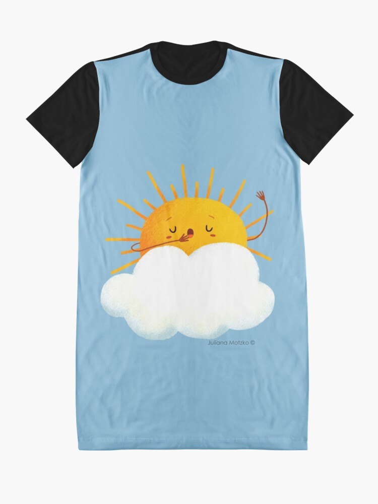 Alternate view of Sleepy Sun Graphic T-Shirt Dress
