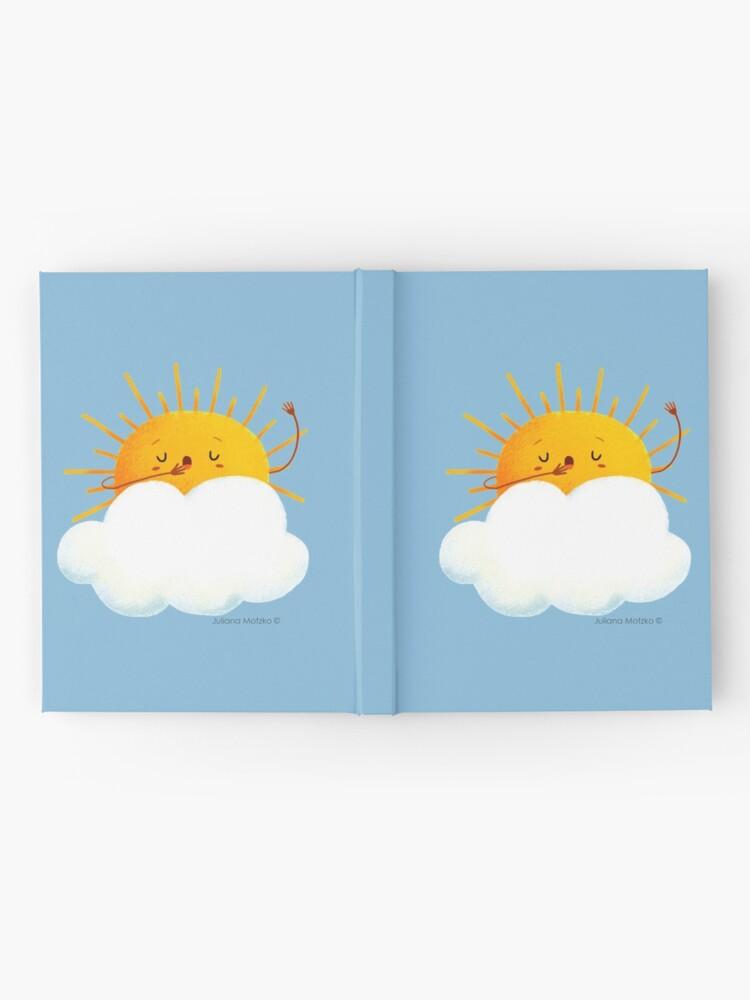 Alternate view of Sleepy Sun Hardcover Journal