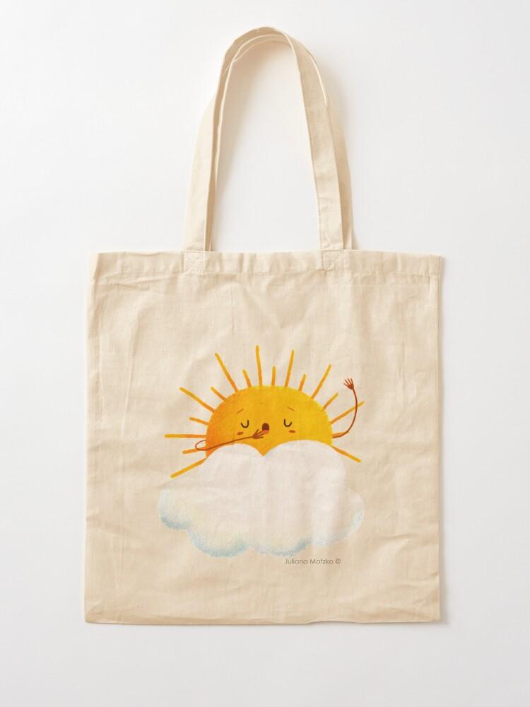 Alternate view of Sleepy Sun Tote Bag
