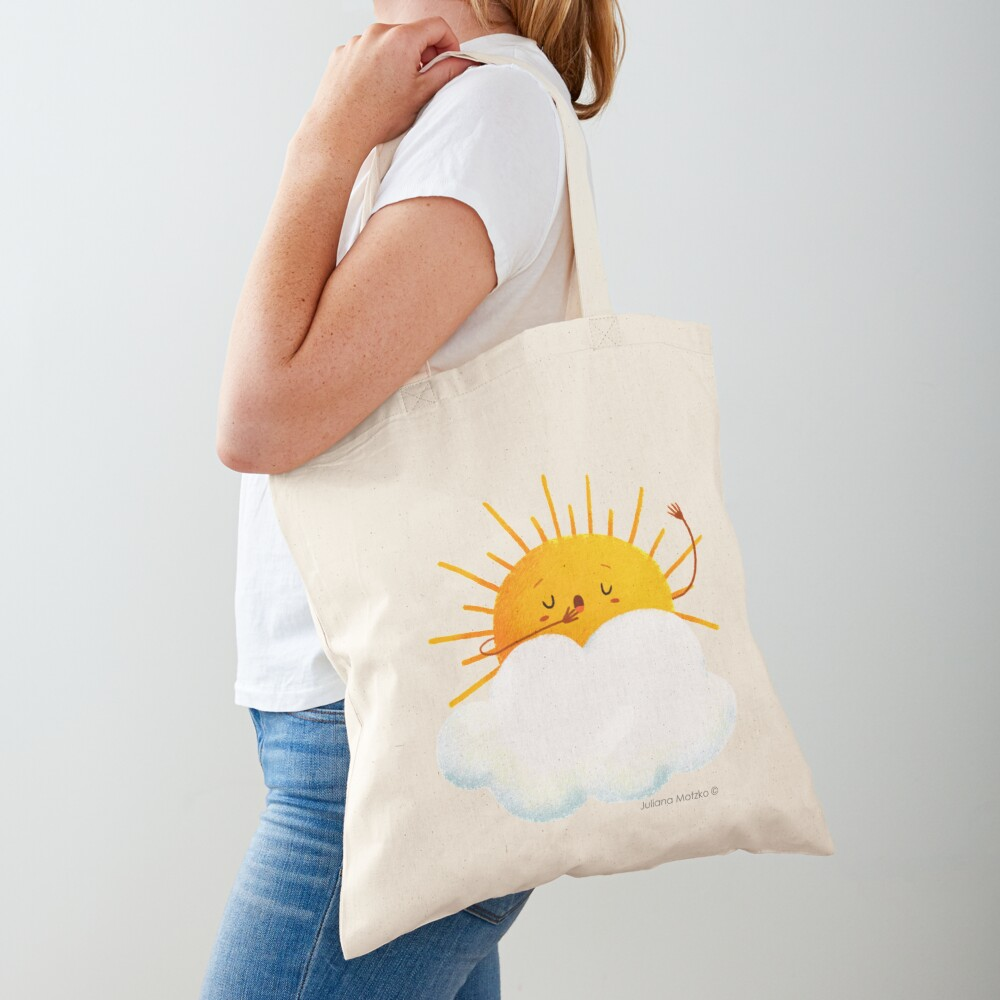 Sleepy Sun Tote Bag