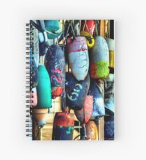 Buoys and Props Spiral Notebook