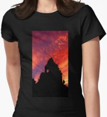Urban Scape Womens Fitted T-Shirt