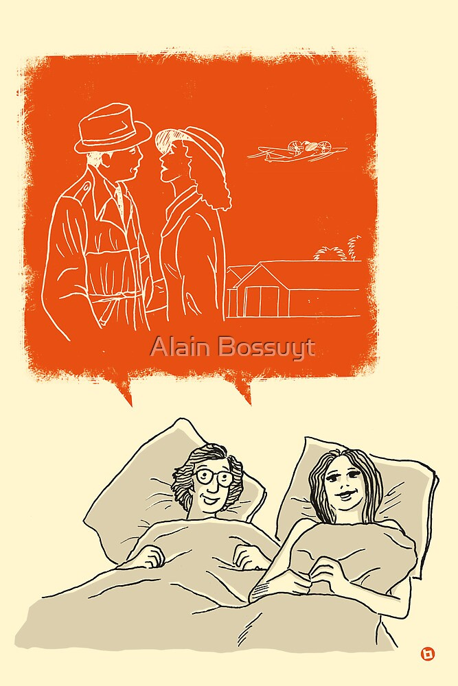 Woody and Diane and Humphrey and Ingrid by Alain Bossuyt