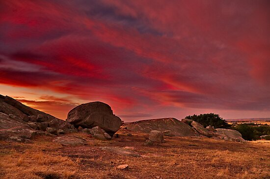 """""""A Summer's Sundown At The Rocks"""" by Phil Thomson IPA"""