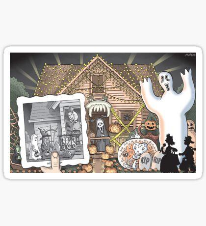Dear Halloween Sticker