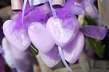 Lavender hearts by Arie Koene