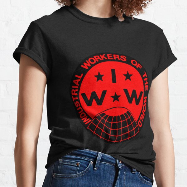 Industrial Workers of the World (IWW) Logo Classic T-Shirt