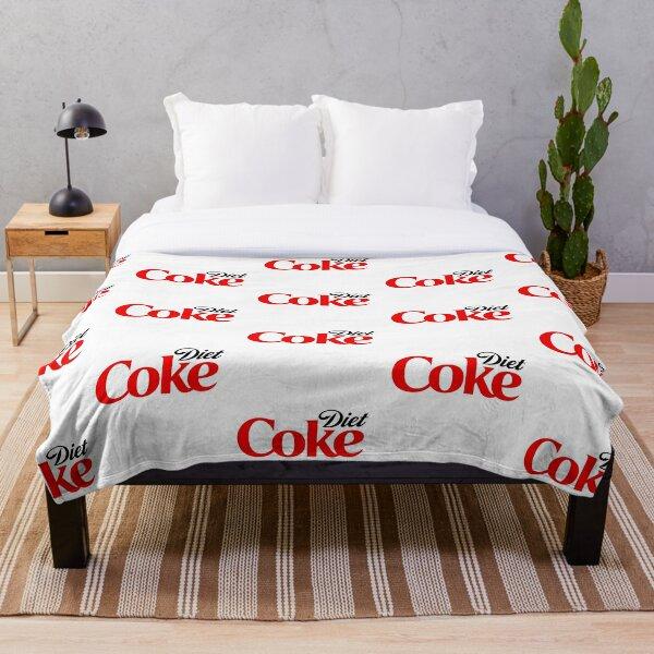 Diet coke Throw Blanket