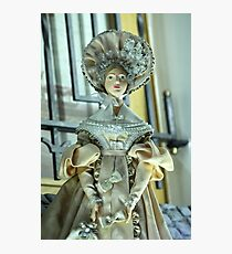Doll in a beautiful dress Photographic Print