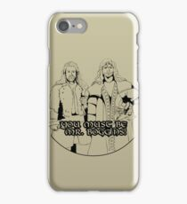 Mr. Boggins iPhone Case/Skin
