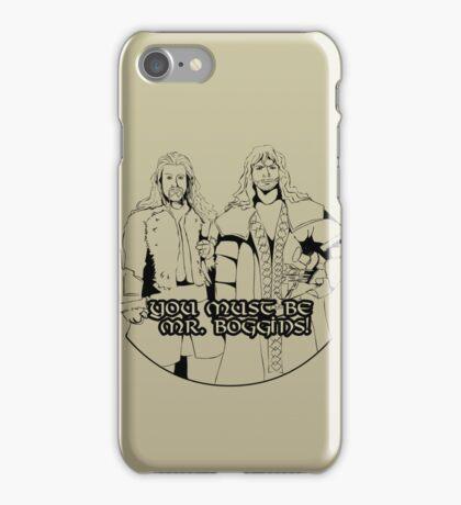 Mr. Boggins iPhone Case/Skin