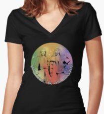 Mr. Boggins Women's Fitted V-Neck T-Shirt