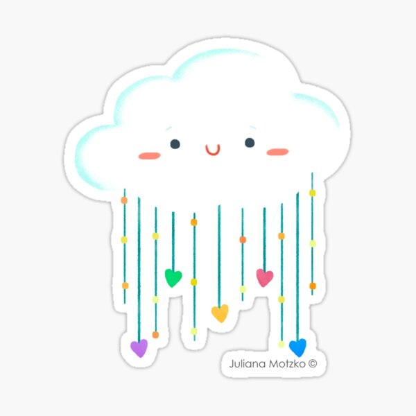 Cloud Love Sticker