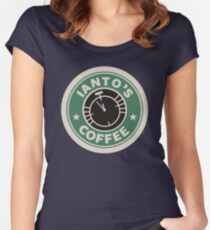 Torchwood - Ianto's coffee Women's Fitted Scoop T-Shirt