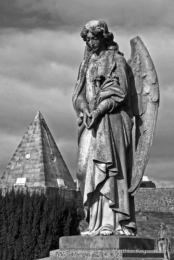 Statue of an Angel by Matthias Keysermann