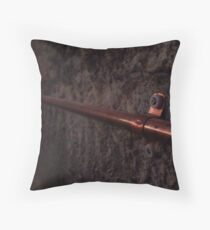 125/365 gas pipe Throw Pillow