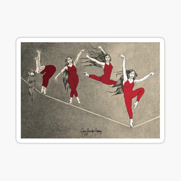 Bailarinas  Pegatina