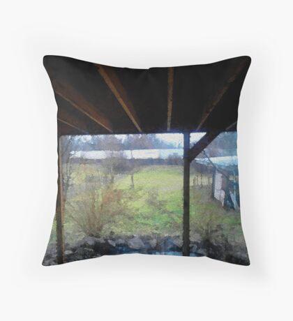 You're Back Throw Pillow