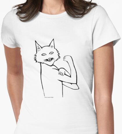Cat Can Do It! T Shirt T-Shirt