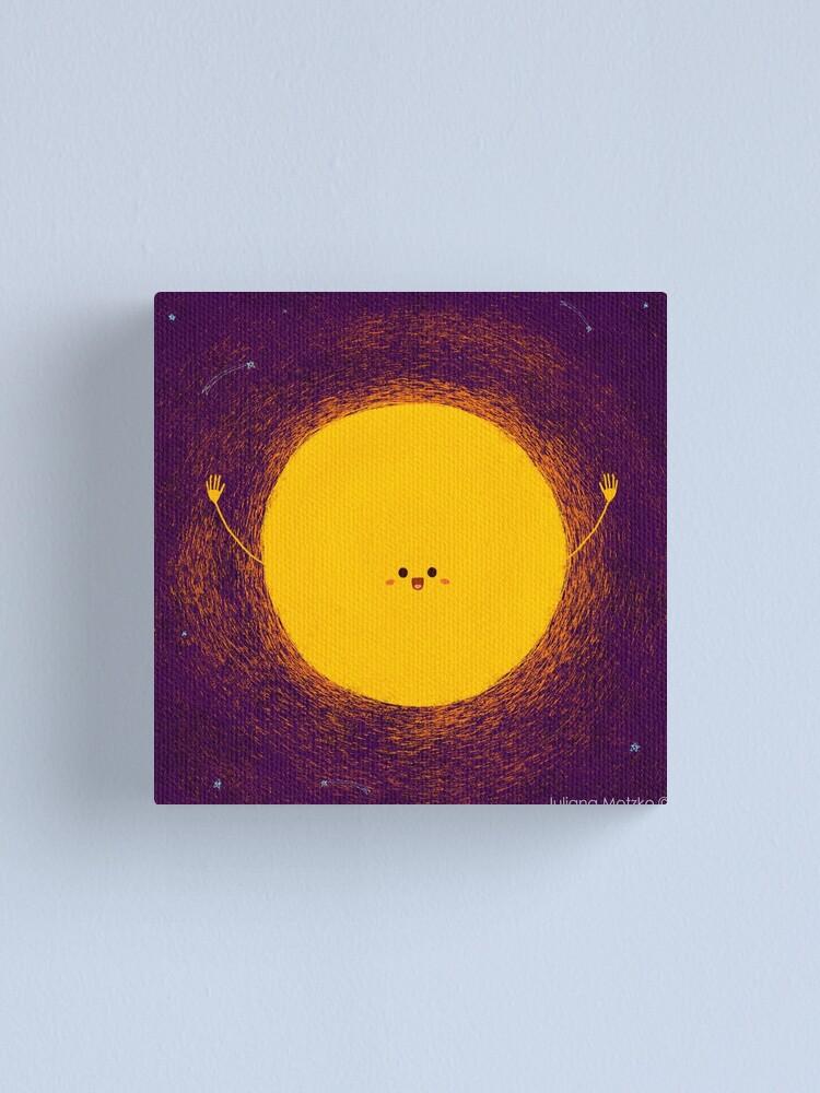 Alternate view of Sun Canvas Print