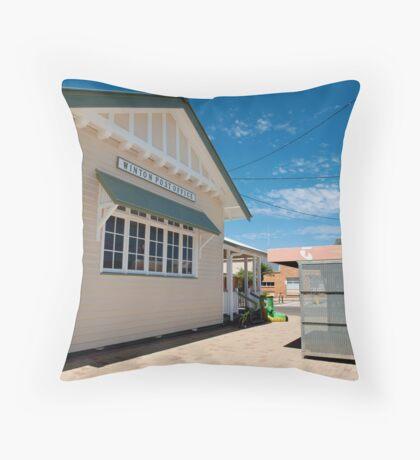 winton post office Throw Pillow
