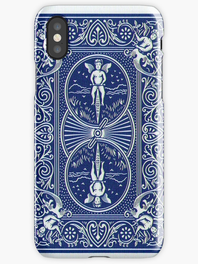 Bicycle Card Iphone Case by slkr1996