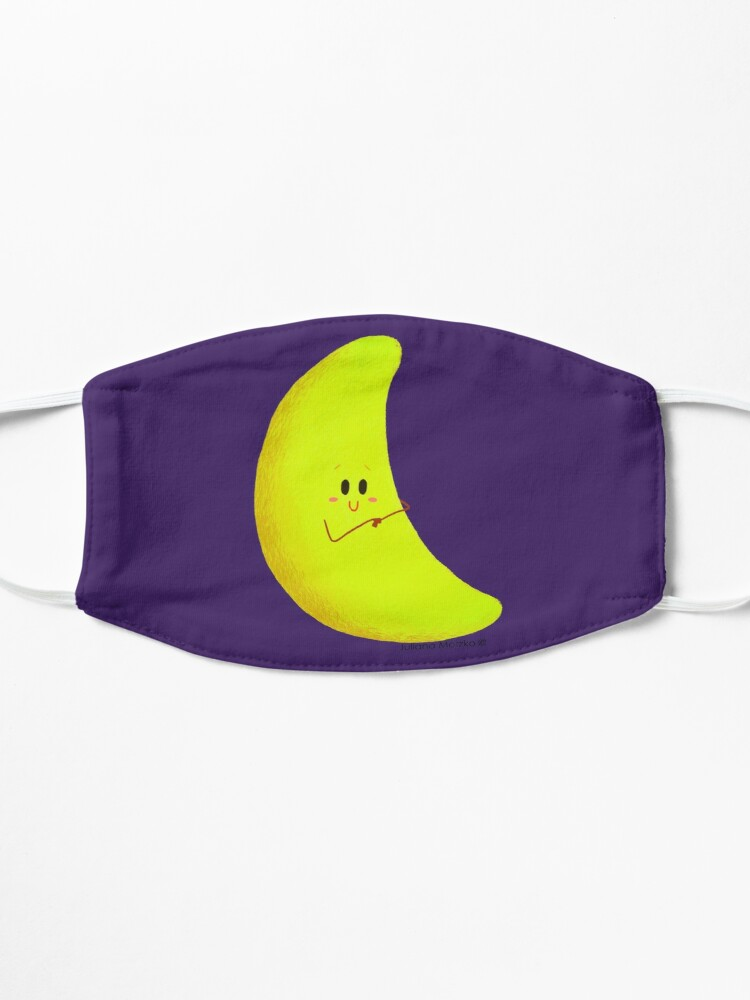 Alternate view of Cute Crescent Moon Mask