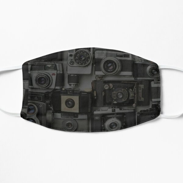 Collage of Cameras Mask