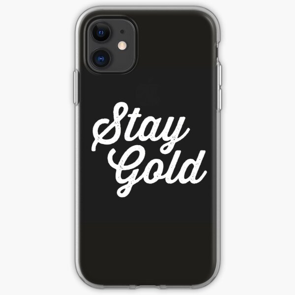 Nothing gold can stay iPhone 11 case