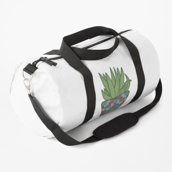 Potted Snake Plant Duffle Bag
