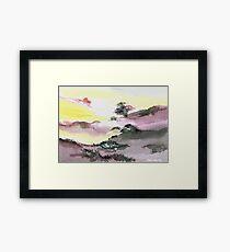 Landscape 1 Framed Print
