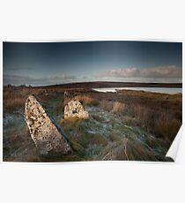 Achavanich, Stone Circle, Caithness, Scotland Poster
