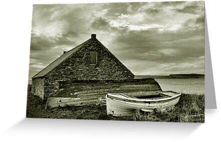 Boathouse by Chris Cardwell