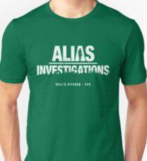 Alias Investigations (aged look) Unisex T-Shirt