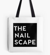 The Nailscape Square Wordmark Tote Bag