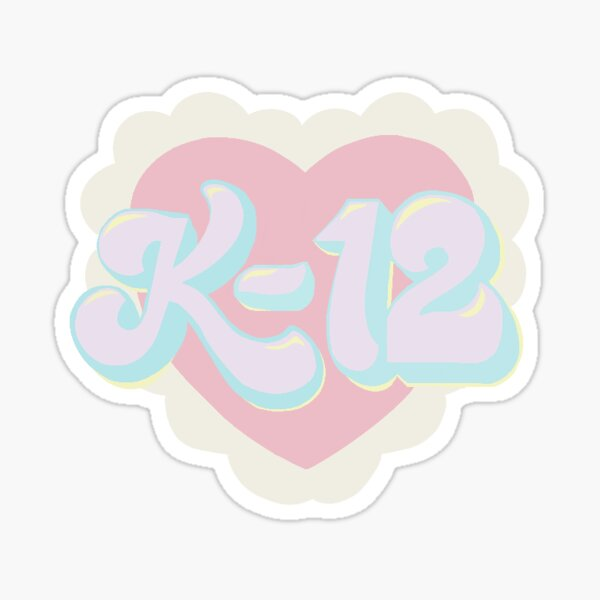K-12 Logo! Sticker