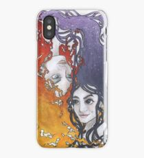 Antara and Meridian: Fire and Darkness iPhone Case
